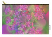 Pastel  Fractal Flower Garden Carry-all Pouch