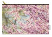 Pastel Pink Flowers Of Redbud Tree In Springtime  Carry-all Pouch