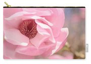 Pastel Pink Petals And Paint Carry-all Pouch