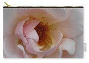 Pastel Pink Rose Carry-all Pouch
