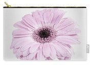 Pastel Purple Gerbera Carry-all Pouch