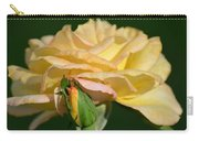 Pastel Rose Ruffles Carry-all Pouch