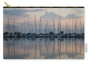 Pastel Sailboats Reflections At Dusk Carry-all Pouch