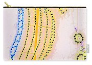Pastel Seahorse In Lights  Carry-all Pouch