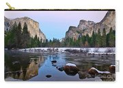 Pastel - Sunset View Of Yosemite National Park. Carry-all Pouch