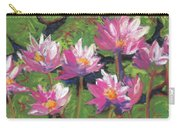 Pastel Water Lilies I  Carry-all Pouch