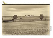 Pastoral Pennsylvania Sepia Carry-all Pouch