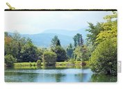 Pastoral Pond And Valley Carry-all Pouch