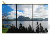 Pastoral Scene By The Ocean Triptych Carry-all Pouch