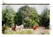 Pasture For Three Carry-all Pouch