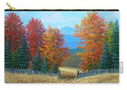 Pasture Gate In Autumn Carry-all Pouch