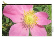 Pasture Rose Rosa Carolina Carry-all Pouch