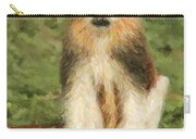 Patas Monkey Erythrocebus Patas  Carry-all Pouch