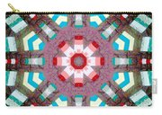 Patchwork Art Carry-all Pouch by Barbara Griffin