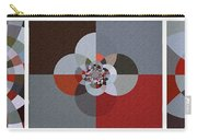 Patchwork Craze - Abstract - Triptych Carry-all Pouch