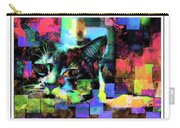 Patchwork Kitty Carry-all Pouch