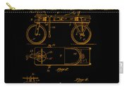 Patent Art 1920 Herzog Hobby Horse Gold Carry-all Pouch