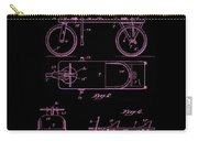 Patent Art 1920 Herzog Hobby Horse Pink Carry-all Pouch