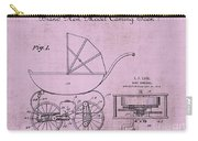 Patent Art Baby Carriage 1920 Lark Invite 4 Carry-all Pouch