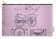 Patent Art Baby Carriage 1920 Lark Invite IIi Carry-all Pouch