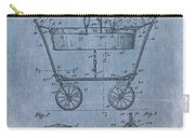 Patent Art Baby Carriage 1922 Mahr Denim Carry-all Pouch