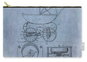 Patent Art Baby Carriage Lark II Invite Carry-all Pouch