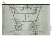 Patent Art Mahr Baby Carriage 1922 Green Carry-all Pouch