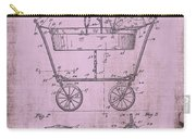 Patent Art Mahr Baby Carriage 1922 Pink Carry-all Pouch