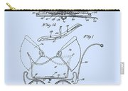 Patent Art Robinson Baby Carriage Blue Carry-all Pouch