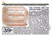 Patent Medicine Ad, 1890s Carry-all Pouch