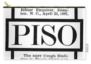 Patent Medicine, C1887 Carry-all Pouch