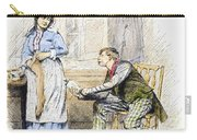 Patent Medicine Salesman Carry-all Pouch