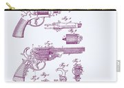 Patented Revolver In Purple Carry-all Pouch