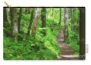 Path In The Forest Carry-all Pouch by Jill Lang