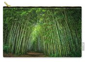 Path Through Bamboo Forest E139 Carry-all Pouch
