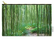 Path Through Bamboo Forest Carry-all Pouch