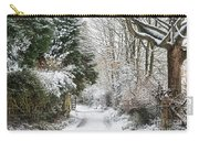 Path Through The Snow Carry-all Pouch