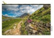 Path To Lake Idwal Carry-all Pouch by Adrian Evans
