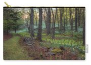 Path To The Daffodils Carry-all Pouch by Bill Wakeley