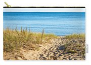 Path To The Lake Superior Beach Carry-all Pouch