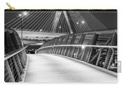 Path To The Zakim Bridge Bw Carry-all Pouch
