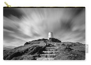 Path To Twr Mawr Lighthouse Carry-all Pouch by Dave Bowman
