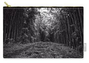 Pathway Through A Bamboo Forest Maui Hawaii Carry-all Pouch