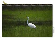 Patience - Egret Carry-all Pouch