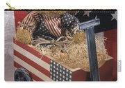 Patriot Bear Carry-all Pouch by Sharon Elliott