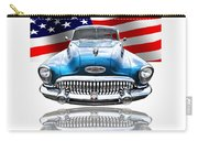Patriotic Buick Riviera 1953 Carry-all Pouch