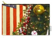 Patriotic Christmas Carry-all Pouch
