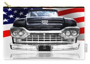 Patriotic Ford F100 1960 Carry-all Pouch