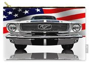 Patriotic Ford Mustang 1966 Carry-all Pouch