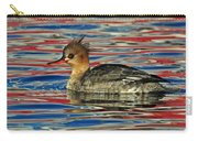Patriotic Merganser Carry-all Pouch